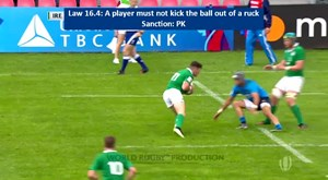 Law: Law 16.4 : Other Ruck Offences - Part 1