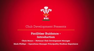 Facilities Guidance - Introduction