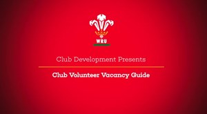 Club Volunteer Vacancy Guide